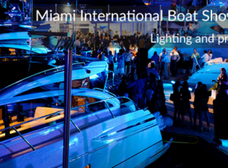 Открытие Miami International Boat Show 2016