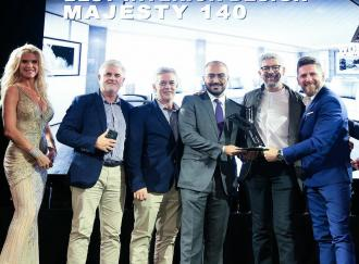 MAJESTY 140 WINS THE BEST INTERIOR DESIGN AWARD & MORE FROM CANNES